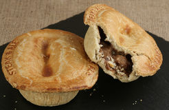 Steak and ale pies Royalty Free Stock Photography