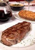 Steak And Potato Royalty Free Stock Image