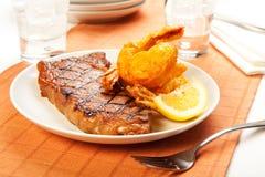 Steak And Shrimp Royalty Free Stock Photo