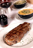 Steak And Sides Royalty Free Stock Images