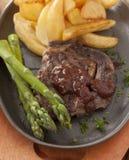 Steak And Asparagus Stock Photos