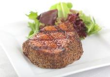 Steak au poivre Images stock