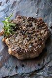 Steak au poivre Images libres de droits