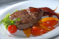 Steak from beef Stock Images
