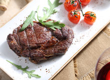 Steak from beef Stock Photo