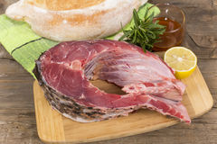Steak carp Royalty Free Stock Photo