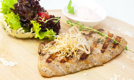 Steak catfish Stock Photography