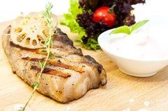Steak catfish Stock Photos