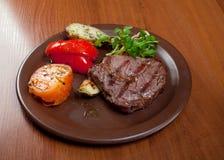 Steak chorizo Stock Photos