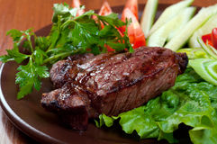 Steak chorizo Royalty Free Stock Photo