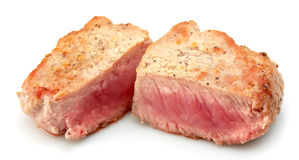 Steak close up Royalty Free Stock Image