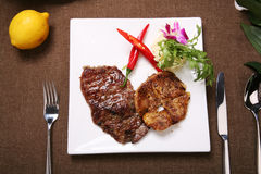 Steak cod Royalty Free Stock Image