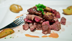 Free Steak Dinner Stock Photography - 17892742
