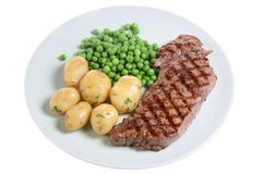 Steak Dinner Stock Photography