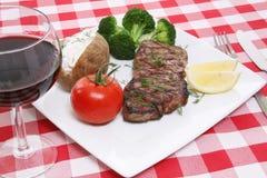Steak Dinner Royalty Free Stock Photos