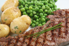 Steak Dinner Stock Images