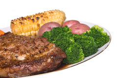 Steak dinner Stock Image