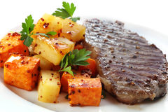 Steak Dinner Royalty Free Stock Photo