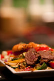 Steak dish Stock Images