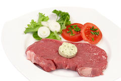 Steak Dish Royalty Free Stock Images