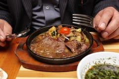 Steak dish Stock Photo