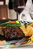 Steak entree royalty free stock photography