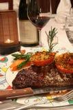 Steak entree royalty free stock image
