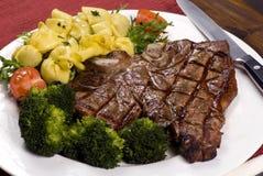 steak för porterhouse 002 Fotografering för Bildbyråer