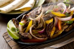 Steak Fajita Lizenzfreies Stockbild