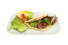 Steak flatbread Royalty Free Stock Photos