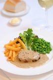Steak For Dinner Stock Image