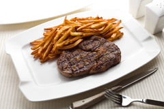 Steak frite Royalty Free Stock Photo