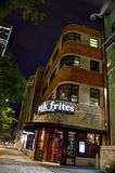 Steak Frites St Paul Montreal Stock Photography