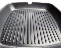 Steak frying pan Stock Image
