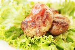 Steak with gravy Royalty Free Stock Image