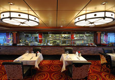 Steak House. Interior of a steakhouse restaurant Royalty Free Stock Photography