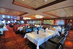 Steak House. Interior of a steakhouse restaurant Royalty Free Stock Photos