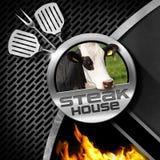 Steak House - Menu Design Royalty Free Stock Images