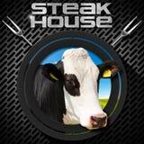 Steak House - Menu Design Royalty Free Stock Photos