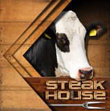 Steak House - Menu Design Stock Images