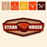 Steak house Royalty Free Stock Photos