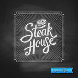 Steak House Special Offer promotion Stock Images