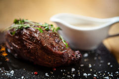 Steak. Inner fillet Royalty Free Stock Images