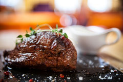 Steak. Inner fillet Stock Photos