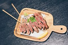 Steak in Japon royalty free stock photography