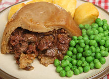 Steak & Kidney Pudding Stock Image