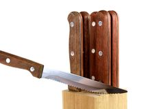 Steak Knives Royalty Free Stock Photos