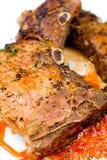 Steak, macro Stock Images