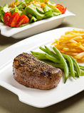 Steak meal Stock Image