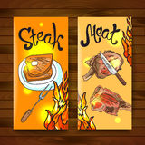 Steak and meat Royalty Free Stock Photo